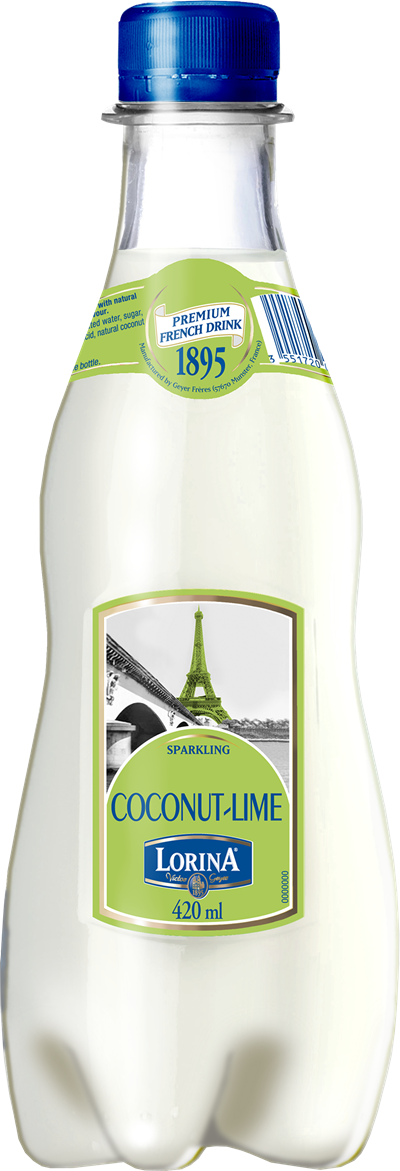 Lorina Coconut Lime 420ML