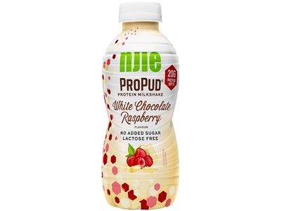 njie ProPud Milkshake White Chocolate Raspberry 330ML