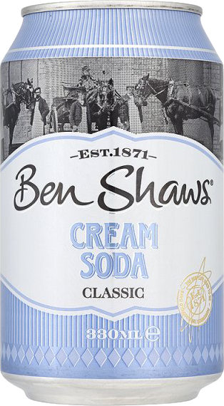 Ben Shaw's Am. Cream Soda 330 ML