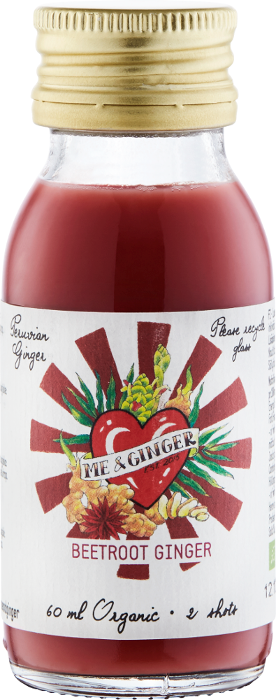Me & Ginger ØKO Beetroot-Ginger 60ML