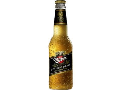 Miller Genuine Draft 330ml glas 4,7% alk
