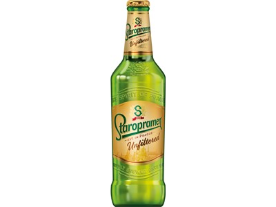 Staropramen Unfiltered 20x500ML Glas