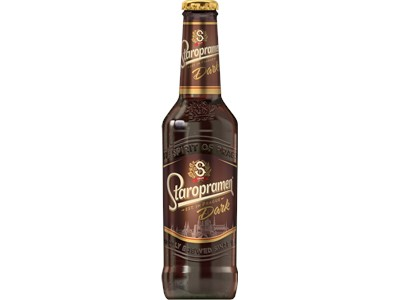 Staropramen Dark 24x330ML Glas