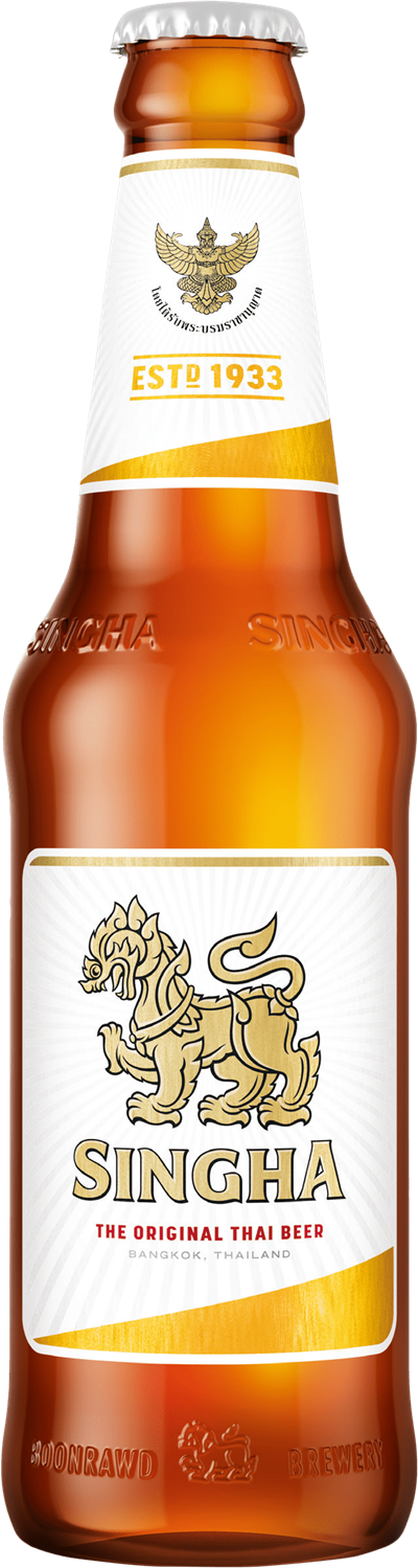 SINGHA BEER 330ml glas
