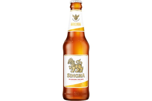 SINGHA BEER 330ML 5% alk.