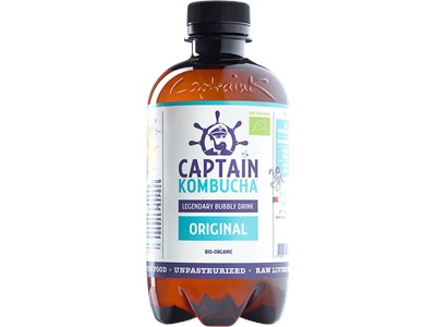 Captain Kombucha Original 400ML Økologisk