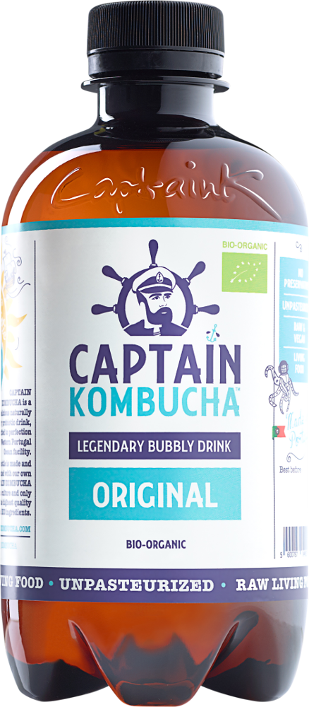 Captain Kombucha ØKO Original 400ML