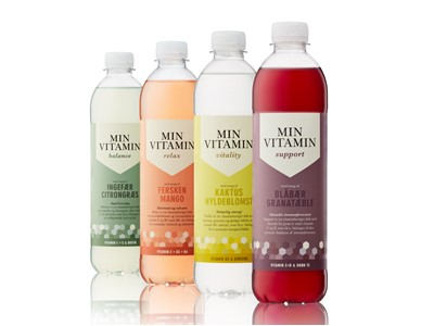 MIN Vitamin ¼-palle display